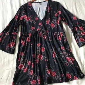 ASOS // NWT Bell Sleeve Dress